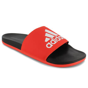 adidas Adilette Cloudfoam Slide, Red/White, hi-res