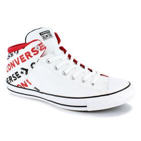 f8de87a0e104fa Converse® Chuck Taylor All Star Wordmark Hi, White/Black/Red, hi