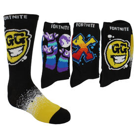 fortnite shop now at shoe dept encore kids fortnite crew 3 pair pack