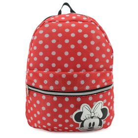 2f38044c227 Disney Minnie Mouse Mesh Backpack