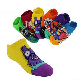 fortnite shop now at shoe dept encore kids fortnite no show 6 pair pack
