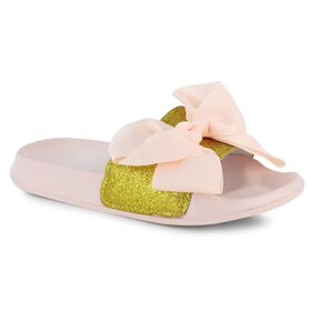 newest b3f72 1ea7d JoJo Siwa™ Bow Slide, Gold Pink, hi-res
