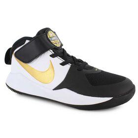 pretty nice 551c5 3fd3e Nike Team Hustle D 9, White Black Gold, hi-res QuickView. Boys