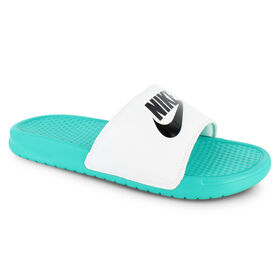 new product 9ea65 aa66c Nike Benassi Just Do It, Teal White, hi-res