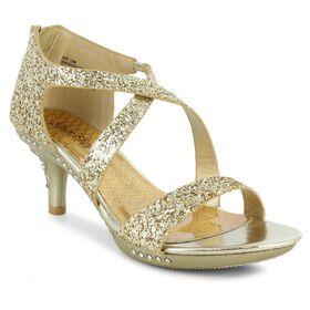 123fecc80d7a Silver Slipper® Chloe, Gold, hi-res QuickView. Girls'