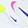 Nike Air Max Bolt AMD, White/Blue/Pink, swatch