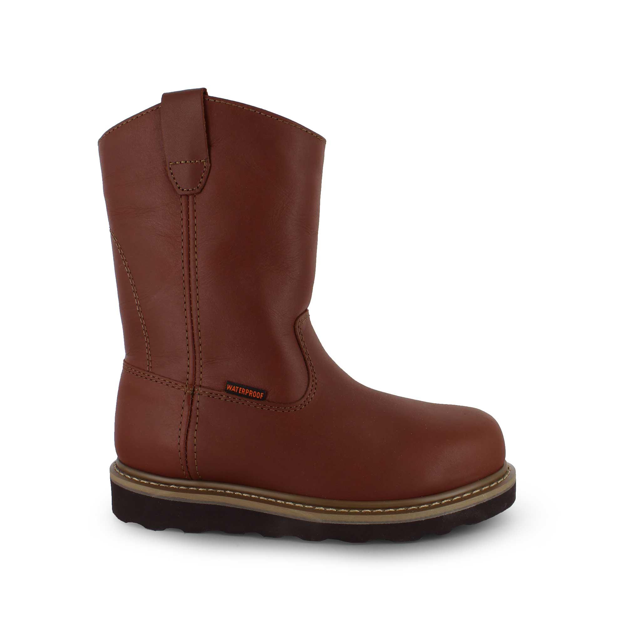df05d6f5dc5 Buffalino® Tulsa Wellington Waterproof Steel Toe
