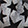 Trinkets® Stars, Black/Silver/Metallic, swatch