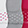 Women's Columbia Dots Liner 3-Pair Pack, Pink/Gray/White, swatch