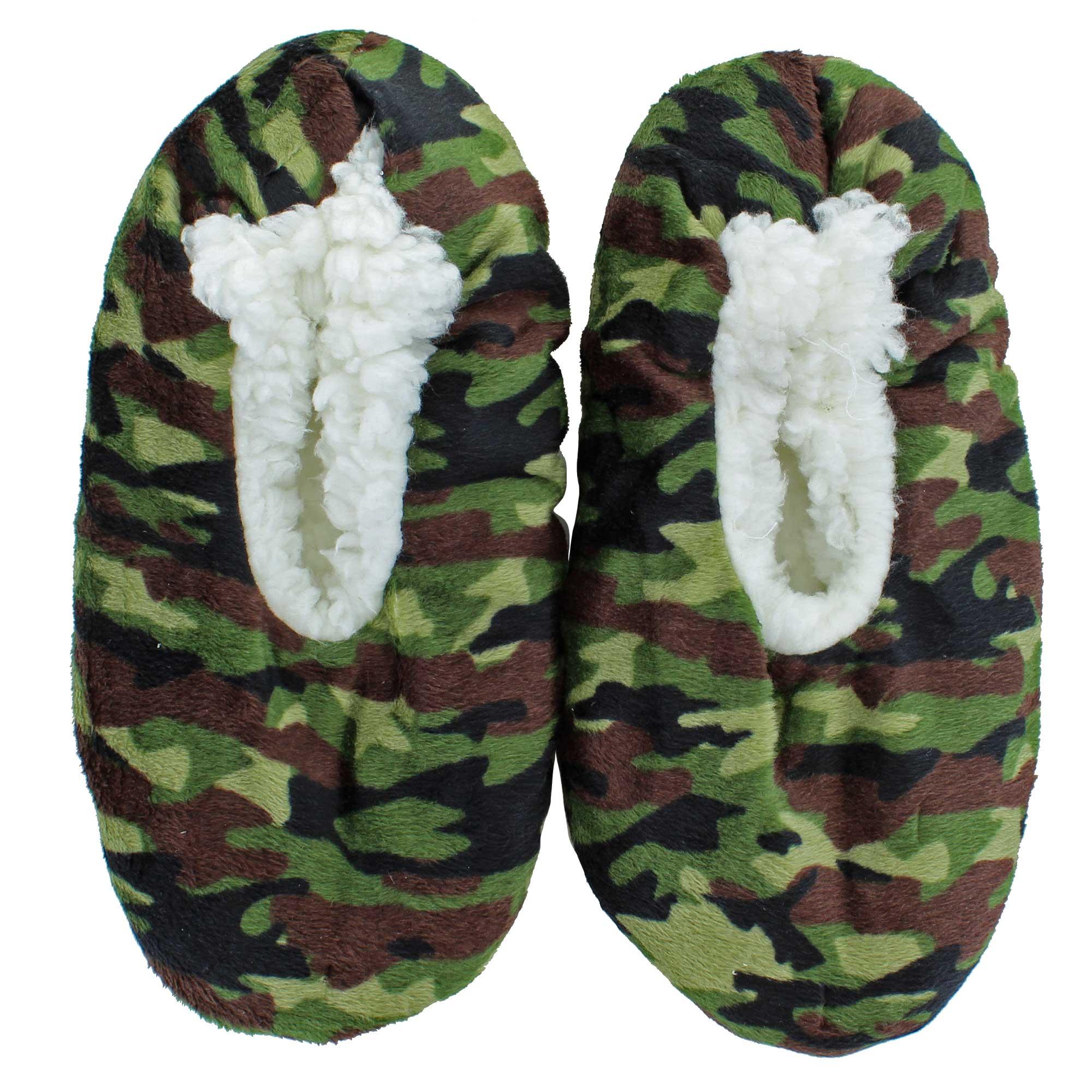 ff4e428e7594 Children s Fuzzy Babba® Slippers M L Fit 13-4